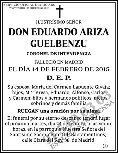 Eduardo Ariza Guelbenzu